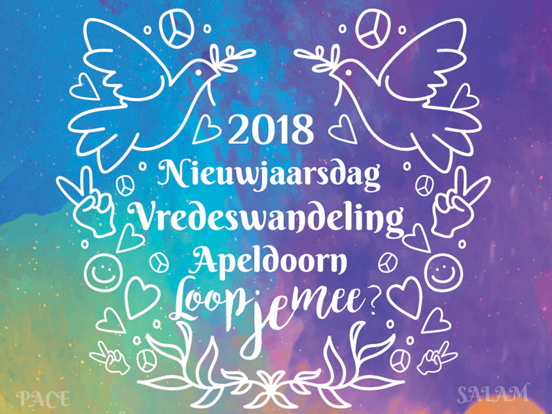 Vredeswandeling 1 januari 2018